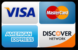 We take Credit and Debit Cards Now!